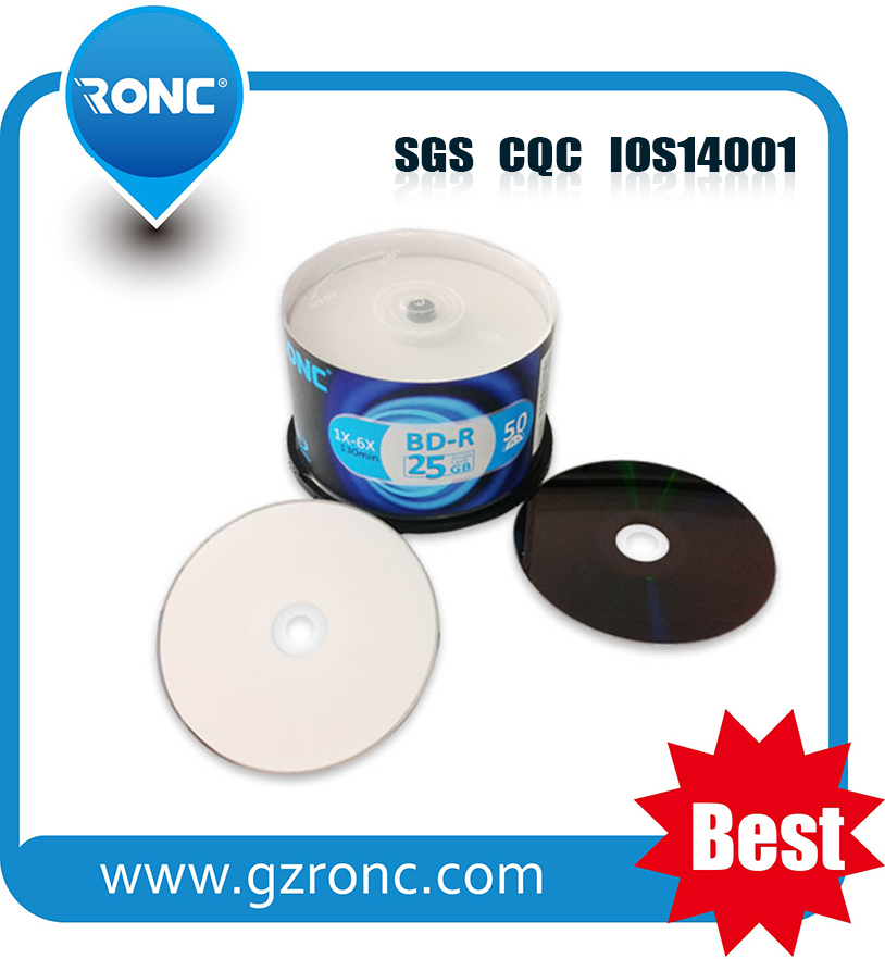 High Quality Printable bd r 50GB