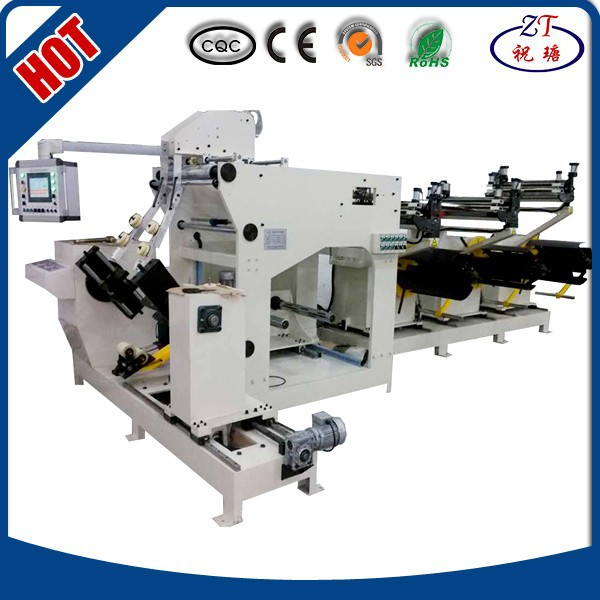 PLC automatic coil winding machine for distribution transformer BRJ600-3 machine