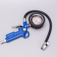 High quality digital air pressure gauge tire inflator gauge with chuck