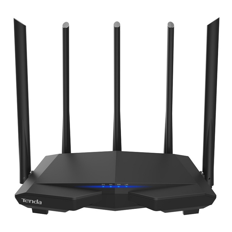 Tenda Original AC7 Wireless Router 5G 1200M High Speed No Setup Easy to Install <strong>WIFI</strong> Router ZY-002