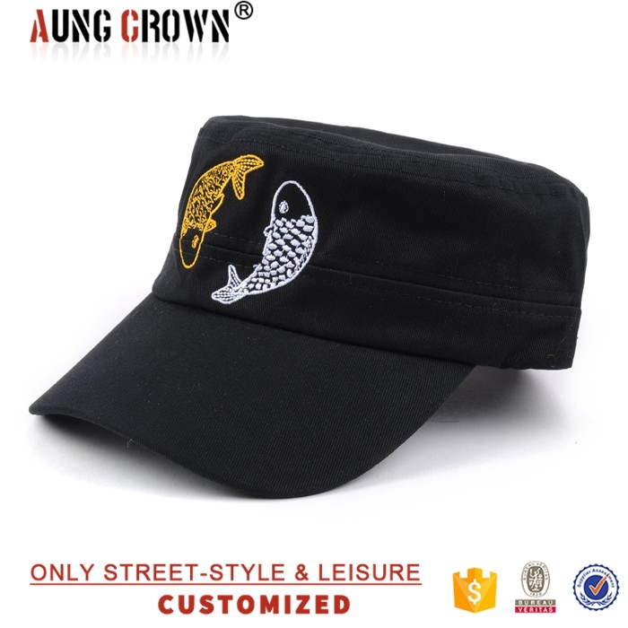 hot sell customized lady military cap