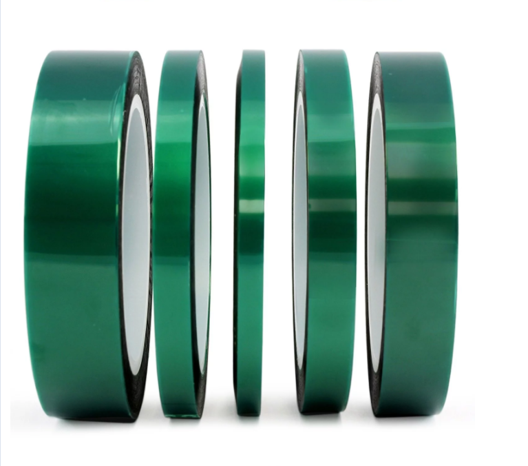 Green Polyester Tape  PET Masking Tape for Transformer/capacitor's Electronic Components