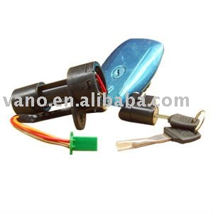 GS125 motoryccle gasoline tank lock for motorcycle