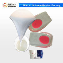 RTV2 Silicone Rubber for Insole Making, Soft Shoe Insoles Silicone
