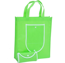 China Goods Wholesale Many Color Non-Woven Custom Foldable Shopping Bag With Logo