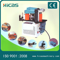 HST-102 wood Portable Edge Bander machinery with Double Side Glue