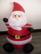outdoor inflatable sitting santa 2014 best sale products