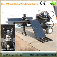 26t log splitter excavator