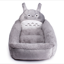 Fashion Pet Bed In Totoro Sharp Thick Dog Sofa for Warm Winter
