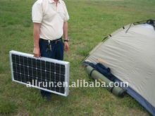 portable High efficiency 180watt folding solar panel with complete component