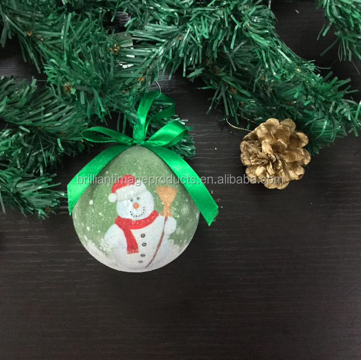 Hot Selling Pearl Material Christmas Ball/Bauble With Single LED Light
