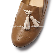 wholesale short white leather tassel for leather shoe