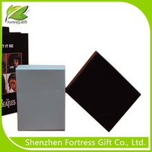 2015 underware packaging gift box with pvc inside, cardboard square paper gift box