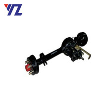 China Supplier Rear Chain Drive Differential Rear Axle With Reverse