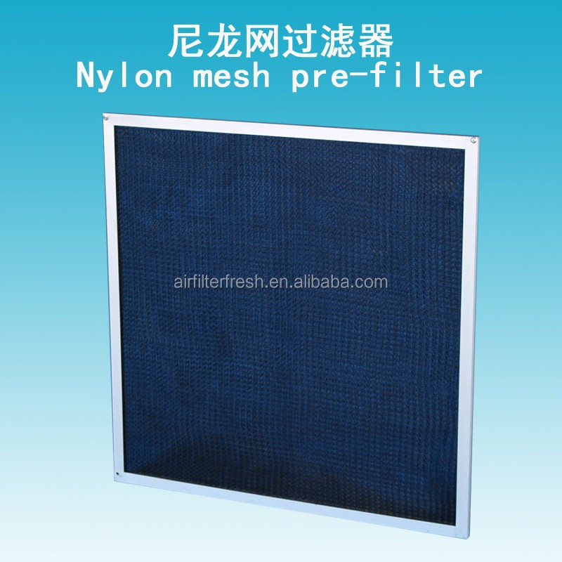 FRESH Nylon Mesh panel Air purifier filter/stainless steel pre-filter