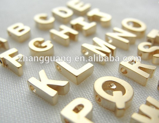 Personalized Gold Plated Letter Alphabet Cursive Pednant
