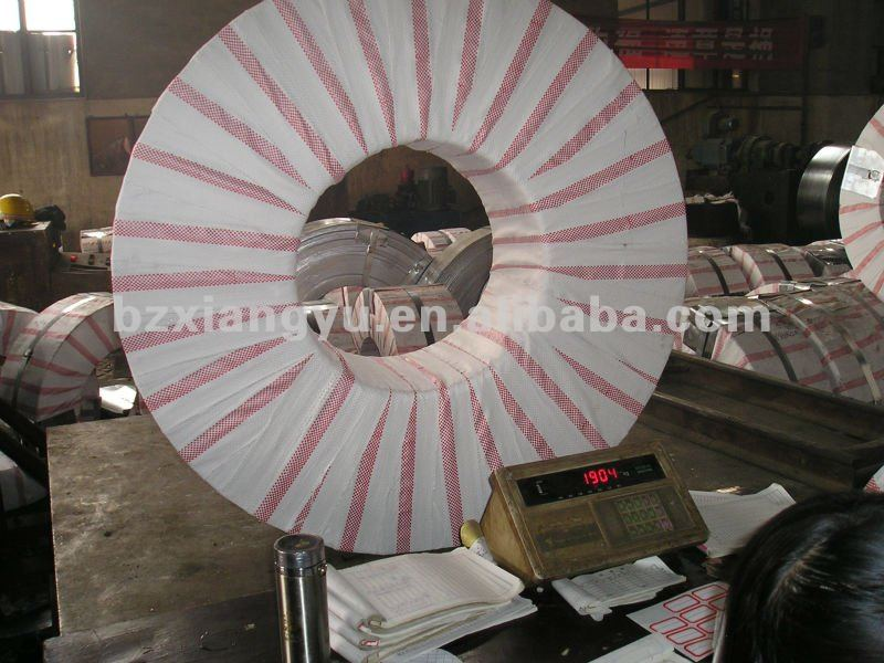 galvanized slitted coil and gi strips