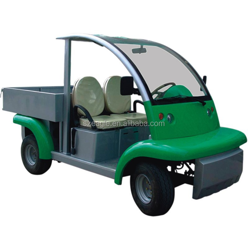Utility car, battery powered, with cargo bed, CE approved