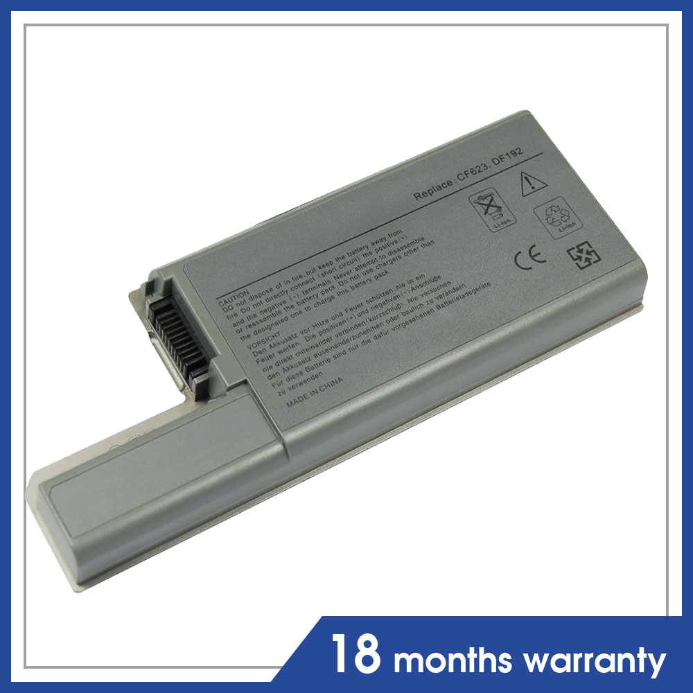 Replacement Laptop Battery for Dell Latitude D531 D531N D820 D830 Precision M65 CW674 DF192 GX047