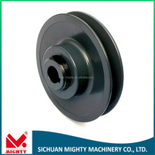 double groove crank pulley oem single v groove wheel u groove wheel sliding gate hanging roller for motors