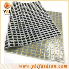 epoxy glue iron on rhinestone sheet convenient for garment