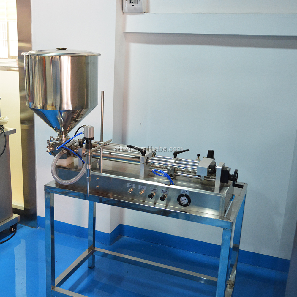 Semi automatic cosmetic filling machines and equipment