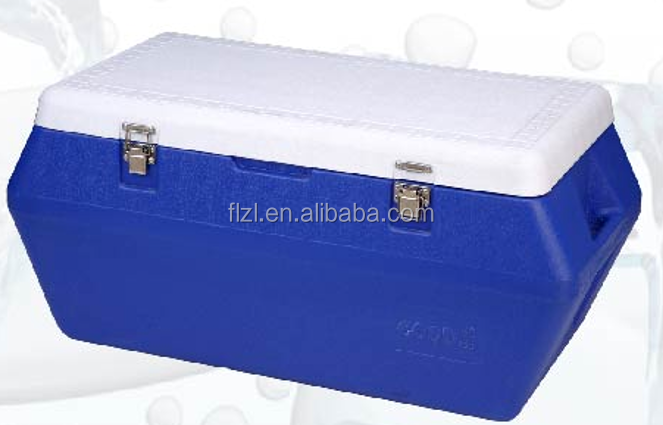 80L commercial cooler box outdoor cooler box for travel and journey