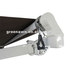 alumimum retractable arm angle adjust folding canopy awning