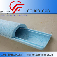 XPS plastic color foam pipe insulation board