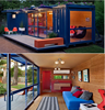 Sustainable Shipping Container House with a Rooftop Garden