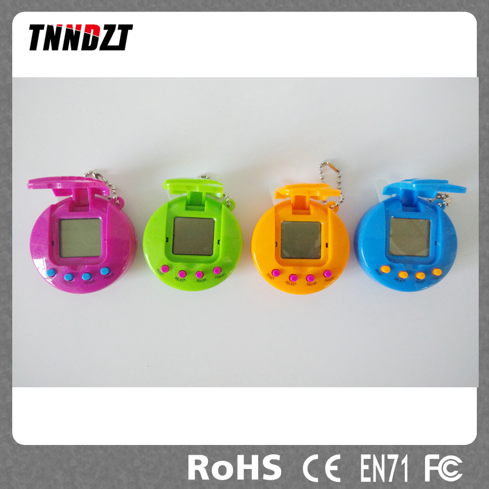 2016 Tamagochi Funny E-pet Toy Game 49 In 1 3Colors Virtual Cyber Pets With Cover
