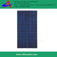 High efficiency hot sale 280w china manufacturer solar poly cells