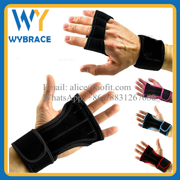 Newest Wrist Wrap Weight Lifting Gloves Manufacturer Cross Fitness Training Gloves for Bodybuilding
