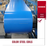 China Coal color coated steel coil/pre painted g40 galvanized steel coil/Color Coated Corrugated Metal House Roofing Sheet