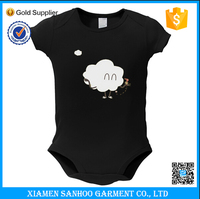 Cheap Short Sleeve Organic Cotton Baby Romoer Wholesale Baby Clothing