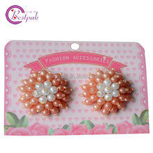 2014 style handmade beaded hair accessories for small kids