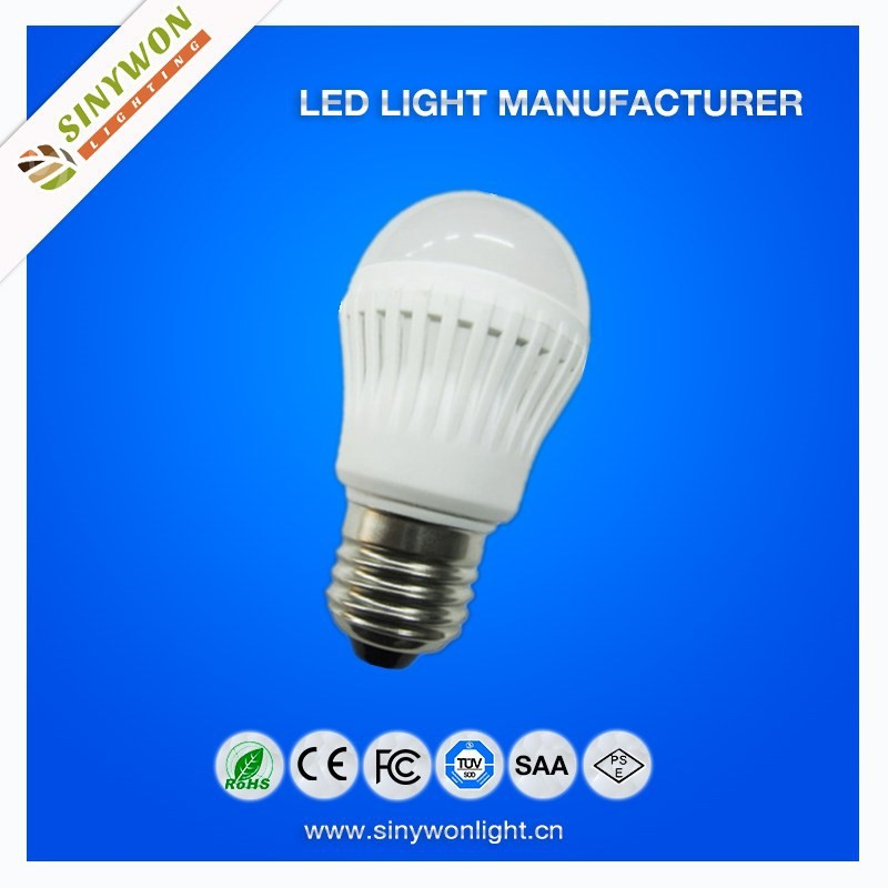 2015 SYW Amzing price !! warranty 2 years 50000hrs CRI80 400lm meterial plastic E27 10w led lighting bulb ;led bulb lighting