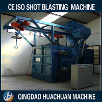 2015 Newest Qualified Double Hanger Shot Auto Blasting Machine