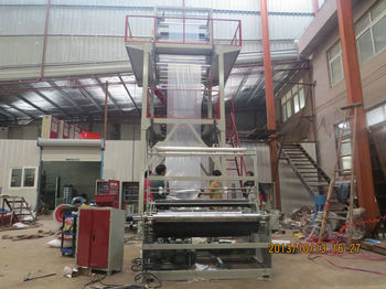 three layer film blowing machine products imported from china