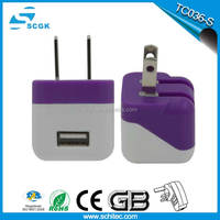 Cheap wholesale 6.8a wall charger