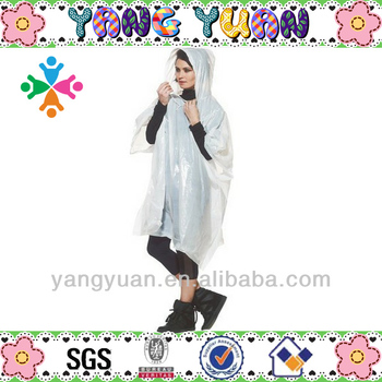 100% wholesale design poncho raincoat
