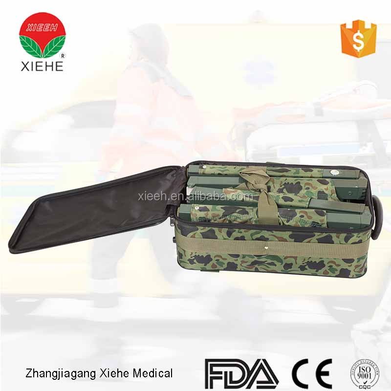 Rescue equipment ambulance folding collapsible military stretcher