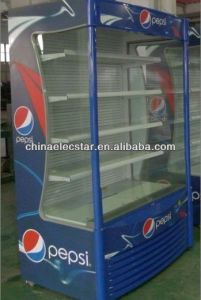 Clodflow Multi-deck Open Air Cooler for beverage, 0.7/0.9/1.2m Width