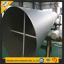 large diameter 316 seamless super duplex large diameter stainless steel pipes