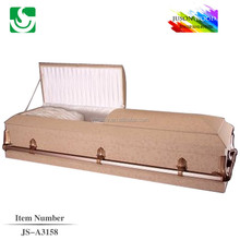 Exported American style JS-A3158 cardboard caskets prices