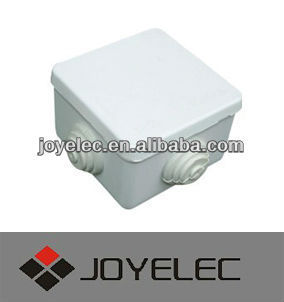 80*80*50 water proof junction box with rubber plug