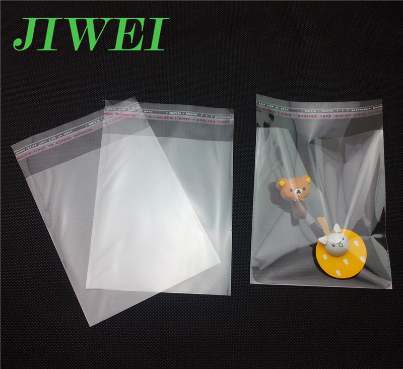 Self Seal Small Reseal Clear Cheap Tiny Thin Plastic Bags