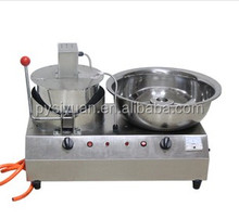 2016 hot sale China mini home automatic caramel gas industrial commercial popcorn machine