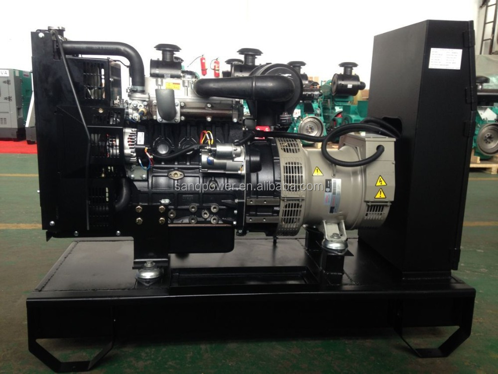 Hot sales 50HZ 22KVA three phase four wires open or silent diesel engine generator