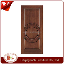 simple design 2 panel interior living room wood doors